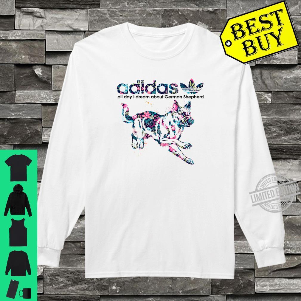 lealtad Dialecto A la verdad  Adidas All day I dream about German Shepherd Dog shirt